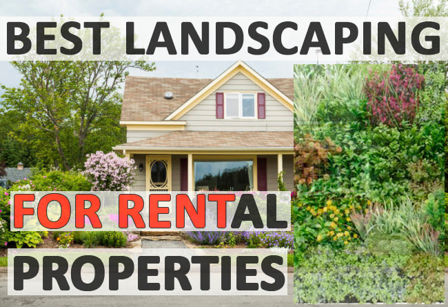Best landscaping for rental properties
